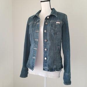 Calvin Klein Stretch Denim Jacket Size M